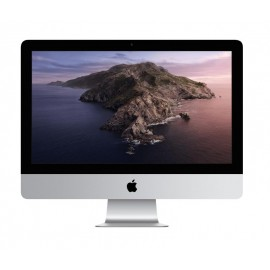 "Apple iMac 2019 21.5"" 4096x2304 i3-8100,8GB,256GB,Radeon Pro 555X 2GB,Mac OS,Silver"