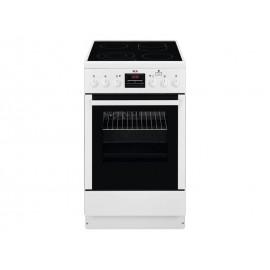 Κουζίνα Κεραμική AEG CCB56400BW White